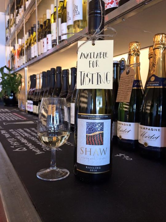 Shaw Riesling 2014