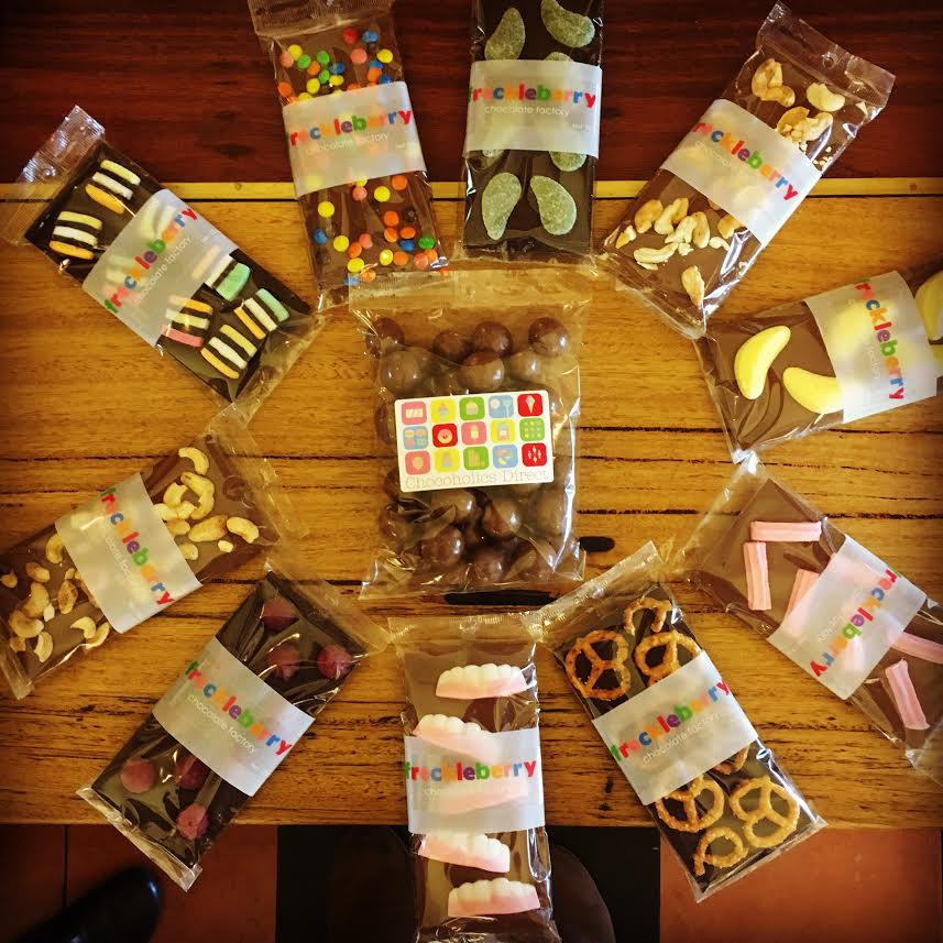 New! Chocolates from Freckleberry in Geelong